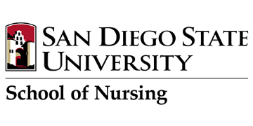 SAN DIEGO STATE UNIVERSITY SCHOOL of NURSING logo