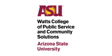 Arizona State University Watts College of Public Service and Community Solutions logo