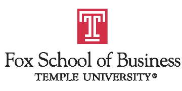 Temple University: Fox School of Business logo