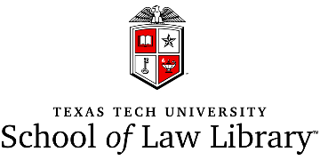 Texas Tech University School of Law Library logo