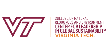 Virginia Tech Center for Leadership in Global Sustainability logo