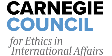 Carnegie Council for Ethics in International Affairs and Fighter Steel Productions logo